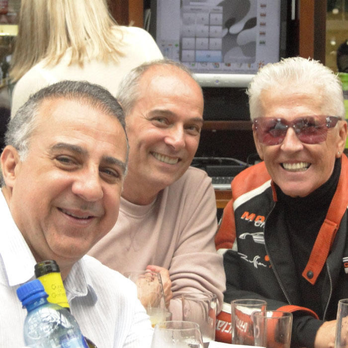 Zulmar Accioli e seus convidados especiais